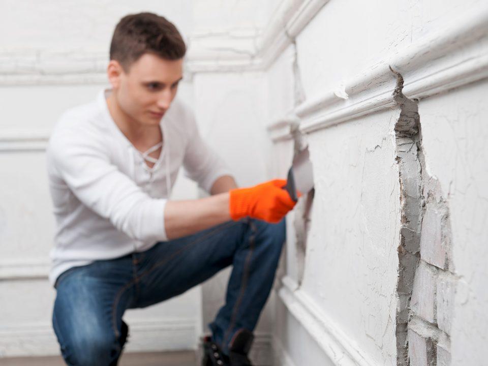 Repairing Cracks on Concrete Walls - Virtue